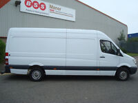 2008 Mercedes Sprinter 311 CDI LWB PANEL VAN,2 FORMER KEEPERS,FULL SERVICE HISTORY,12 MONTH M.O.T