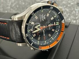 Vostok Europe we are one special edition Anchar chronograph.