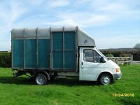 IFOR WILLIAMS HORSEBOX on Long Wheel base twin wheel Ford Transit