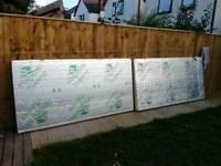 Kingspan 100mm insulation boards 2 no