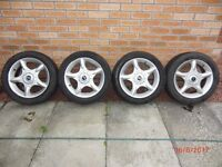 MINI COOPER ALLOY WHEELS AND TYRES