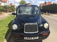 LTI TX2 TXII Taxi London Black Cab '52 TFL plated - Lots of life left!