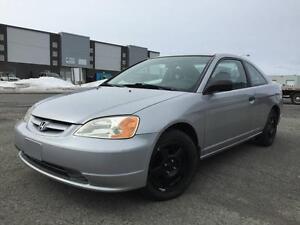 Honda Civic Coupé 2 portes, boîte manuelle - DX ULTRA PROPRE !!!