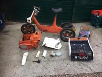 BSA ariel 3 unfinished project engine is free and has compression good project