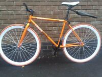 Fixie Bike - Single Speed - Fixed Gear Bicycle