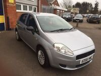 2007 fiat punto 1.2 76k 12 months mot/3 months parts and labour warranty