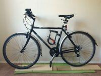 """Trek T10 21"""" Hybrid Bike for sale with U-lock, front and back lights + floor pump"""