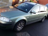Reduced For Sale!! VW PASSAT ESTATE for £350 or ONO