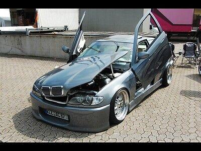 ⭐️ Kompletter Front-Umbau BMW E36 auf E46 M3 Motorhaube Xenon Showcar Tuning gebraucht kaufen  Alpen