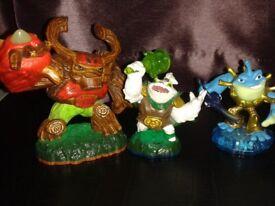 Skylanders figures 50p each