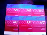 AAT textbooks and workbooks units 5, 6, 7 by Foulks Lynch