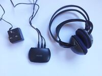 Philips SHC2000 Headband Wireless Headphones - with charger