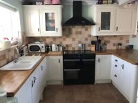 Used, B&Q signature kitchen. Excellent condition. Oak worktops for sale  Hemsby, Norfolk