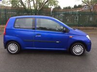 Daihatsu CHARADE 2004 cheap bargain auto automatic 1.0 small car 2 door blue long 12 mot