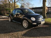 53 Reg Volkswagen Beetle 2.0 Black eg focus 307 megane fiesta mondeo polo golf astra corsa clio mini
