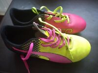 Kids football boots size 2