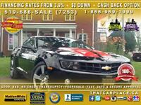 2012 Chevrolet Camaro LT2-Sport Package-Bluetooth-Paddle Shifter