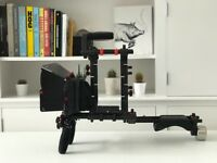 FILMCITY Shoulder Rig FC-02 Mattebox for DSLR Video Camera Canon 5d Rig Cage