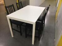 Immaculate table +4 immaculate chairs•free delivery