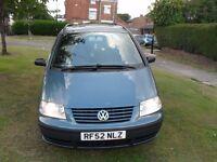 2003 Volkswagen Sharan 1.9 TDI PD SL 5dr [NEW MOT+TURBO+CLUTCH+INJECTORS]