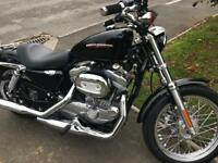 Harley Davidson 883 sportser only done 2400 miles