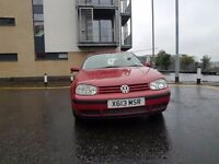 Vw golf mk4 1.9tdi full year mot