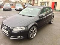 May 2011 AUDI A3 SE TDI, NEW TTRS ALLOYS **Drive this away from £35 a week**