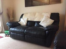 Leather sofa x2 FREE