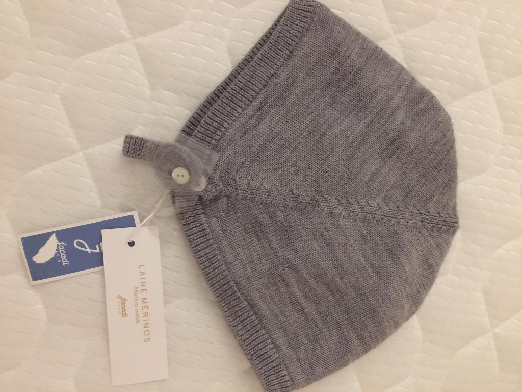 Jacadi baby hat grey  6c5733fd680