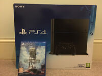 BRAND NEW SEALED PS4 500GB - SONY PLAYSTATION 4 with STAR WARS BATTLEFRONT