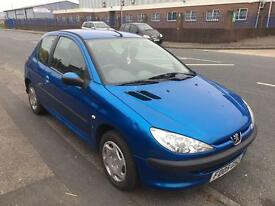 Peugeot 206 1.2 petrol 3 door px welcome