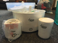 Brand new Tommee-tippee Steriliser and accessories