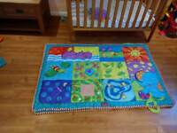 Baby play mat by Tiny Love. Very good condition.