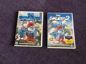 Smurf's dvd bundle 1&2