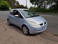 06 mitsubishi colt 1,1 ideal first car cheap on fuel tax and insurance low miles mot until may 2018