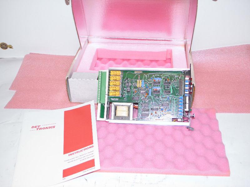 DET TRONICS R8466 Dual Channel Contoller GAS Detector