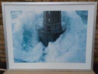 Lighthouse Print in Aluminium Frame