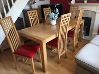 "Oak furniture land ""Alto"" Dining Set"