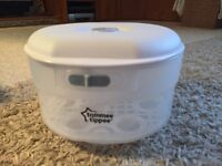 Tommee Tippee cold water / microwave steriliser - only used once