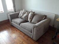Sofa - large solid sofa £50
