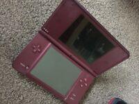 Nintendo DSi XL in wine red