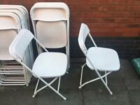 Folding Chairs for Hire (£1.60 each)
