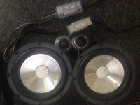 FLI Comp6 door speakers