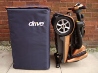 Drive iWhizz Mobility Scooter 20KG in BAG.DRIVE AUTO FOLDING.CAR BOOT SCOOTER
