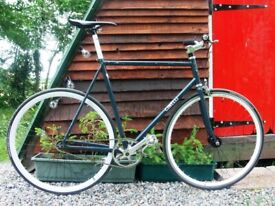 Cinelli Gazzetta fixed-gear 58cm Columbus steel frame