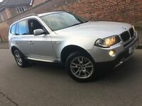 2007 bmw x3 se 2.0 diesel 6 speed manuel leather full history useful family 4x4