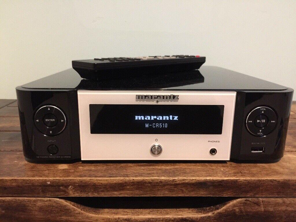 Marantz M-CR510 and Monitor Audio Bronze BX1 Bookshelf Speakers