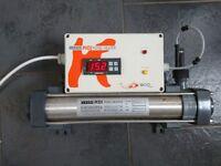 Koi pond elecro 900 series 3kw heater