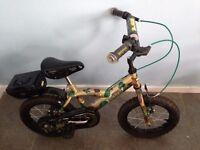 Boys bike age 4-6