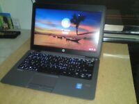 ** Now Sold ** HP Elitebook 820 i5-4300u 8GB 180GB SSD 12.5in Metal Ultrabook / Laptop Windows 10